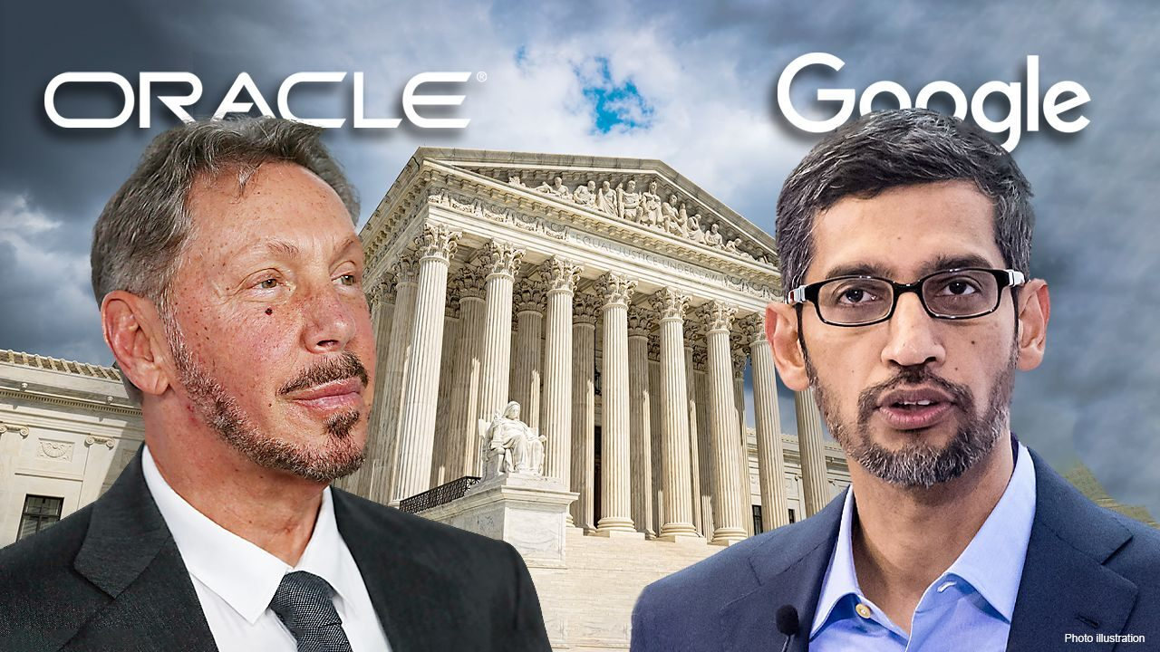 The U.S. Supreme Court is hearing Google's attempt to end Oracle's copyright lawsuit