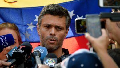 Photo of Venezuelan opposition leader Leopoldo Lopez has left Caracas