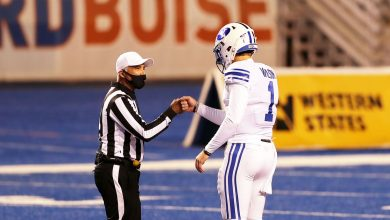 Photo of Live: The latest BYU football number 21 as number 9 is playing in Boise State