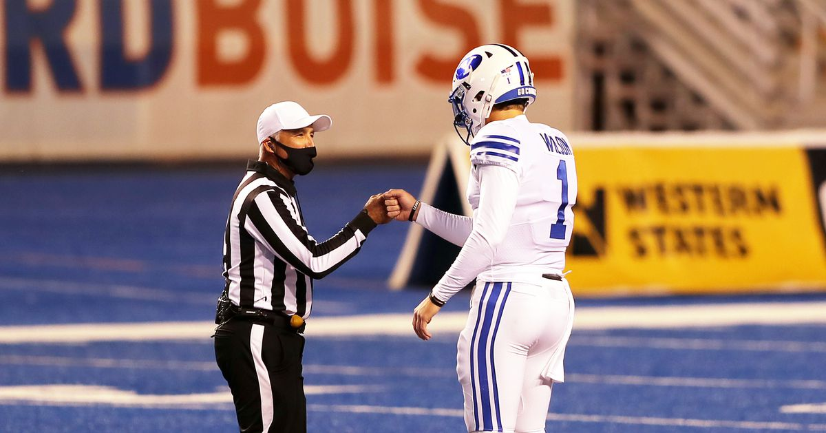 Live: The latest BYU football number 21 as number 9 is playing in Boise State