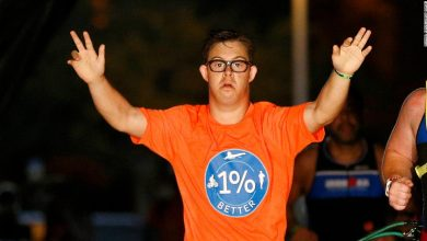 Photo of Ironman Florida: Chris Nick makes history as first person to complete triathlon with Down syndrome