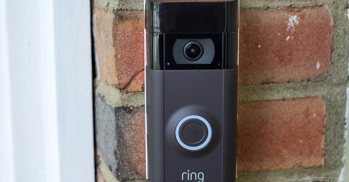 The ring video door bells were reminiscent of fire concerns