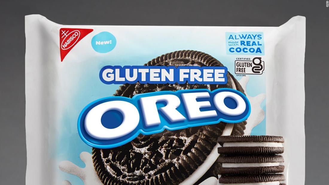 Orio finally releases gluten-free cookies