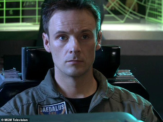 Continuing role: Moro also starred as Captain Dave Kleinmann in Stargate Atlantis