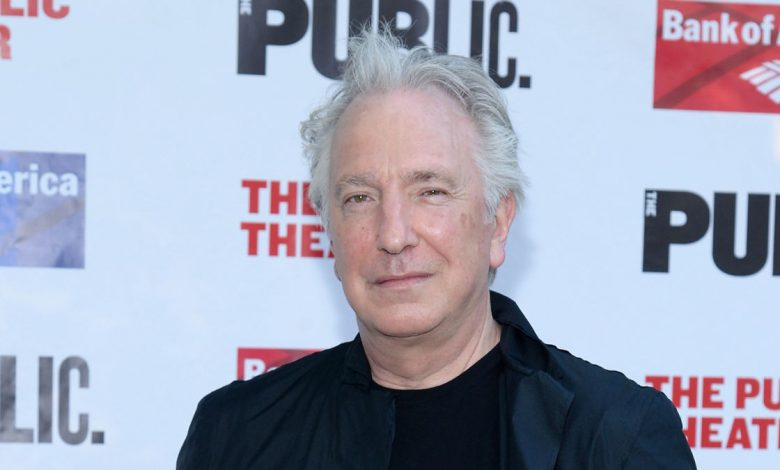 Alan Rickman's Diaries is about to be published as a book