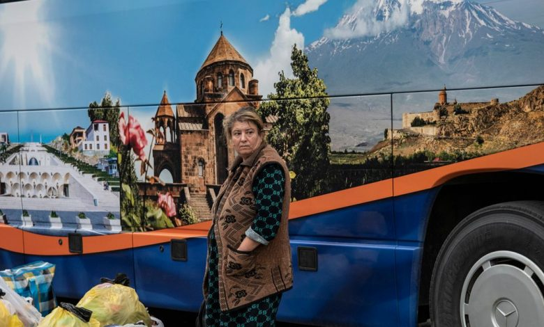 Anger, fear and grief forced the Armenians to leave the land and return to Azerbaijan.