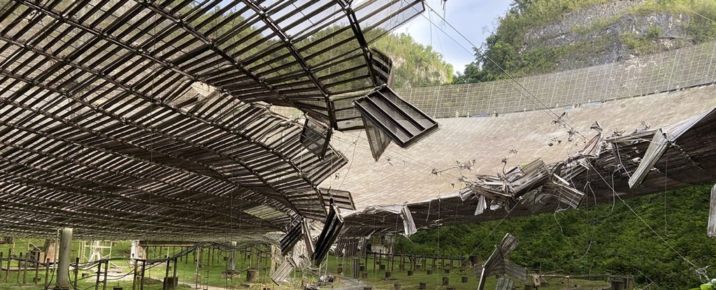 Another cable broke the iconic Arecibo telescope, and scientists are worried