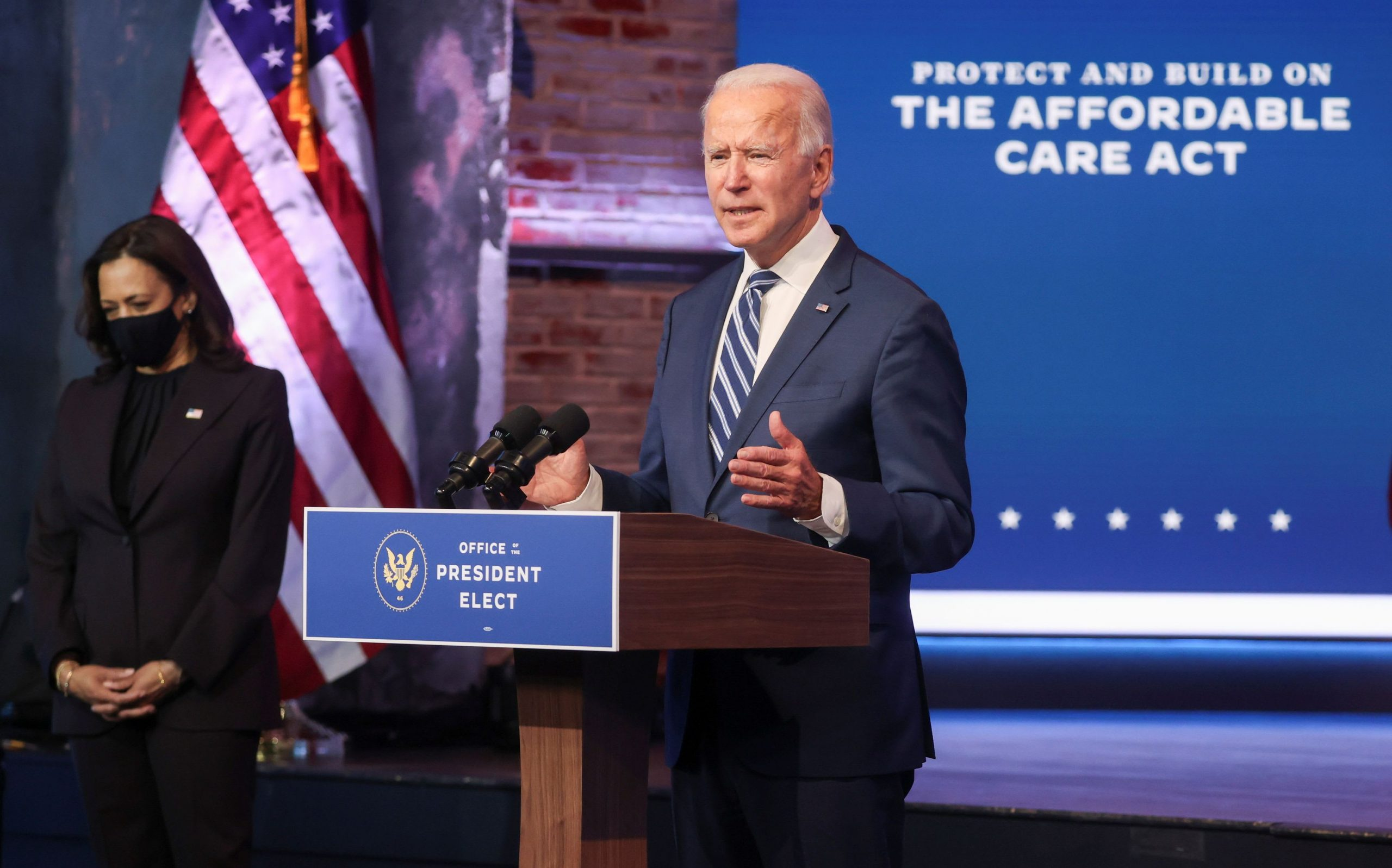 Biden says 'this is an embarrassment' that Trump will not accept change