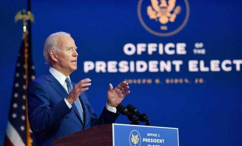 Biden shifts barrels forward when the Trump administration stops