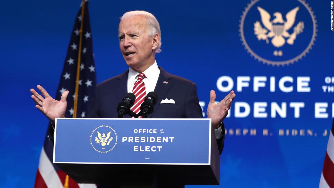 Biden's victory over Trump exceeded 6 million votes