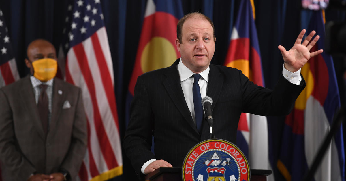 Colorado Gov. Jared announced that police have tested positive for Covit-19