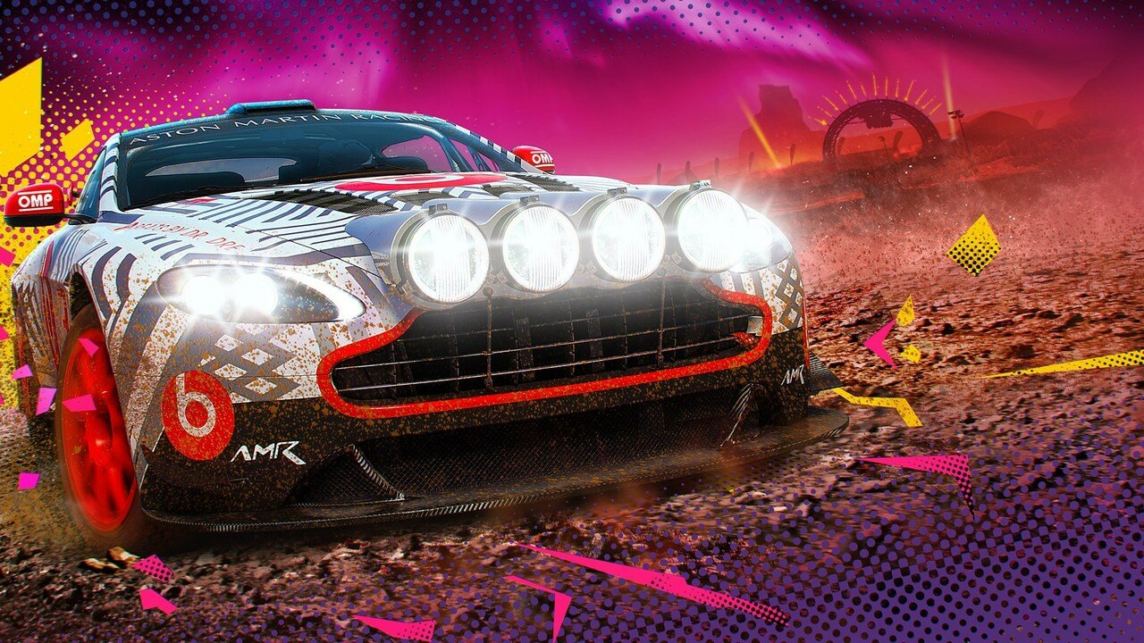 DIRT 5 Next-Gen Face-Off Compatible with PS5