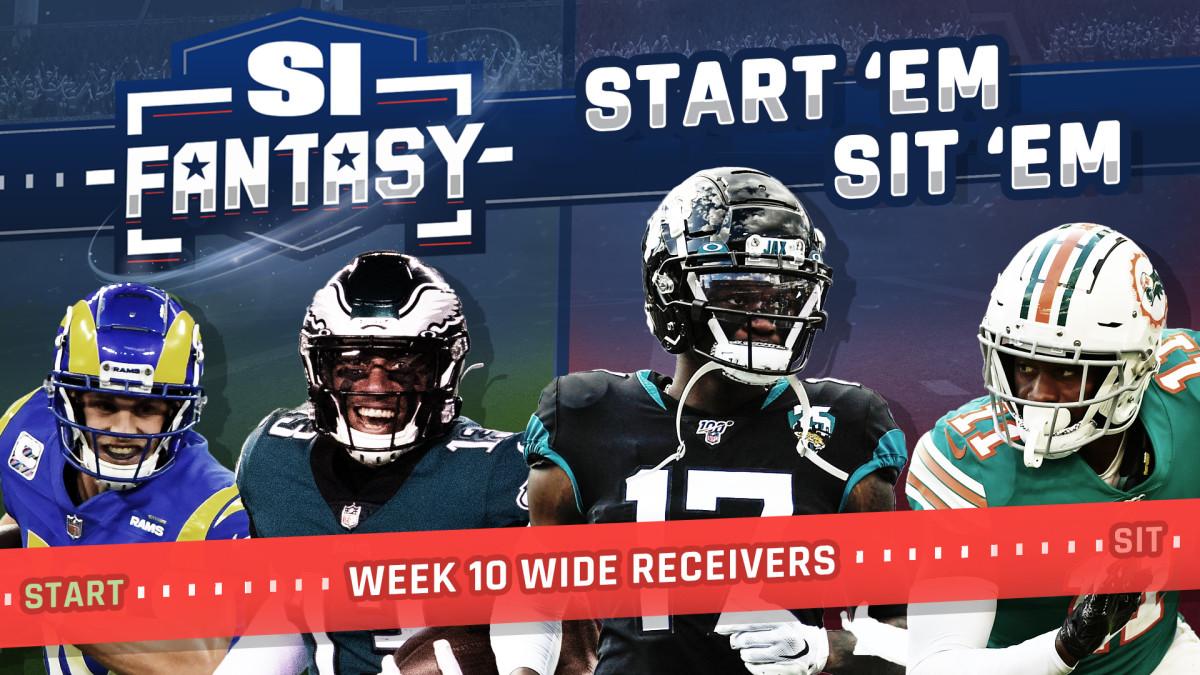 Fantasy Football Launch 'M, Sid' M Week 10: Wide Recipients - Sleepers, Fats, Matchups, TFS Bargain