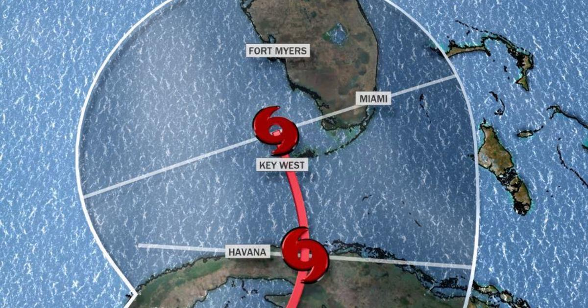 Florida on the path of tropical storm Etta