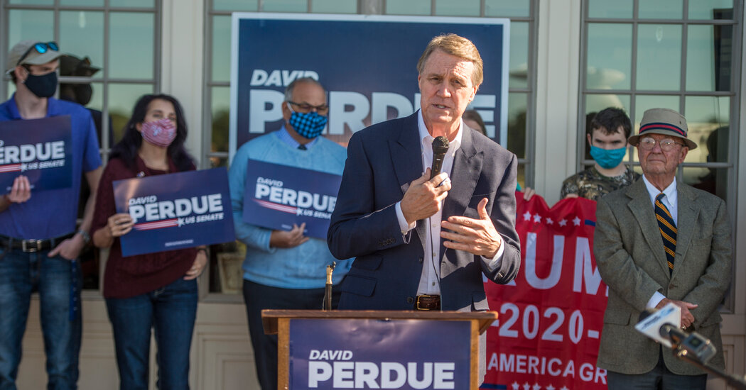 Georgia Senate Race Runs Off by John Osoff and David Bertue