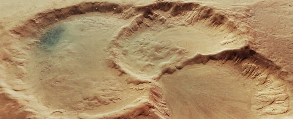 Incredible images reveal three mysteriously formed abysses on Mars