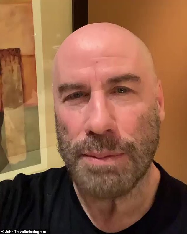 John Travolta thanks fans on first Thanksgiving as a widower