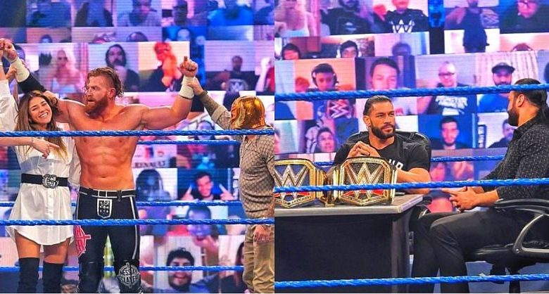 An interesting night on SmackDown