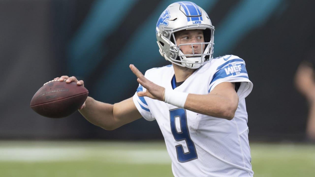 Lions QB Matthew Stafford is set to go solo after the week