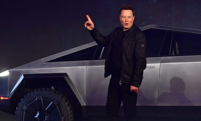 Musk says the new Tesla Cybertruck is coming 'soon'