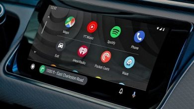 Photo of Mysterious Android Auto Update shows up completely blue
