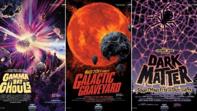Photo of New NASA posters share galaxy horrors for Halloween