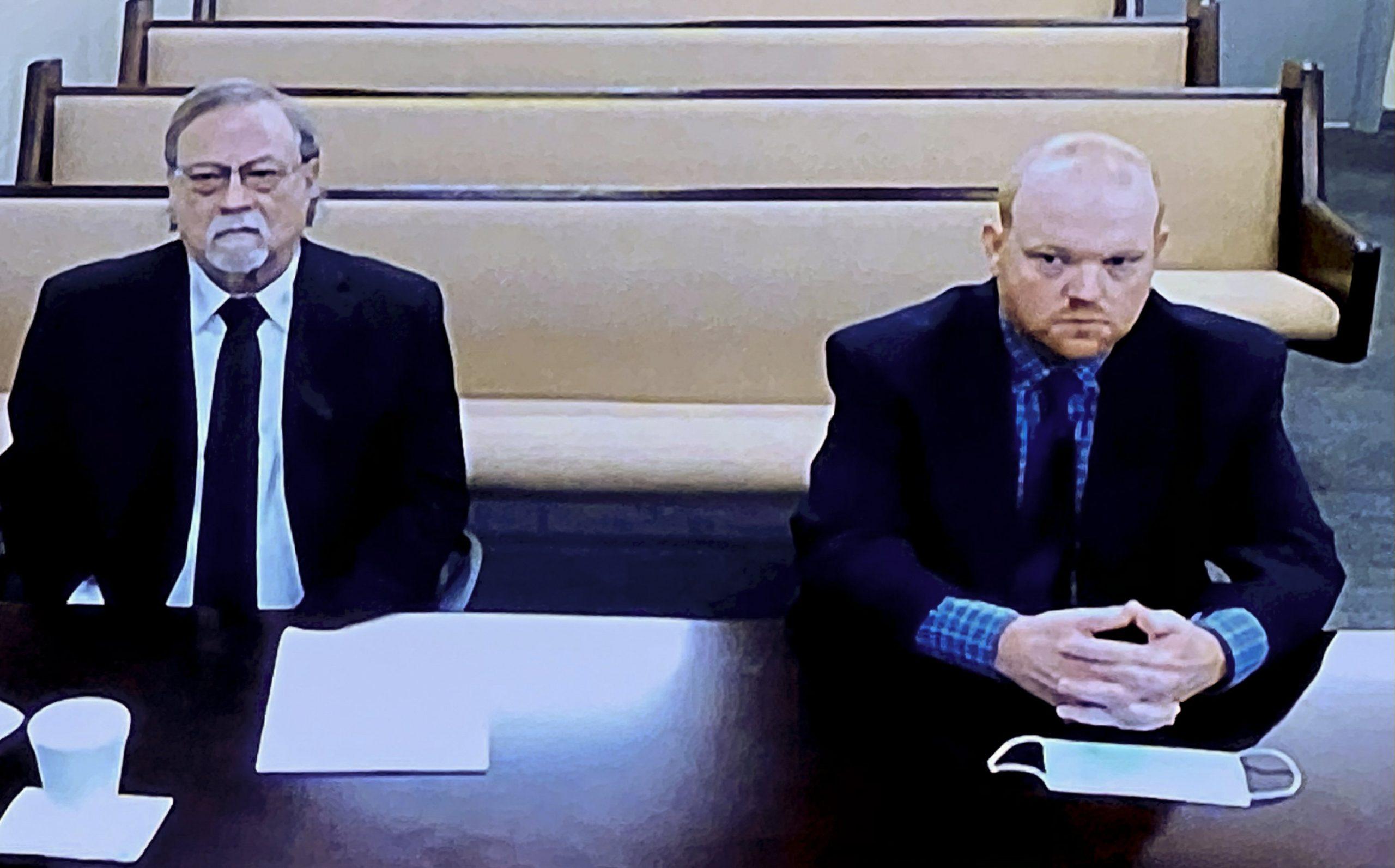 Prosecutor Ahmed Arbery reads the racist news of the killer