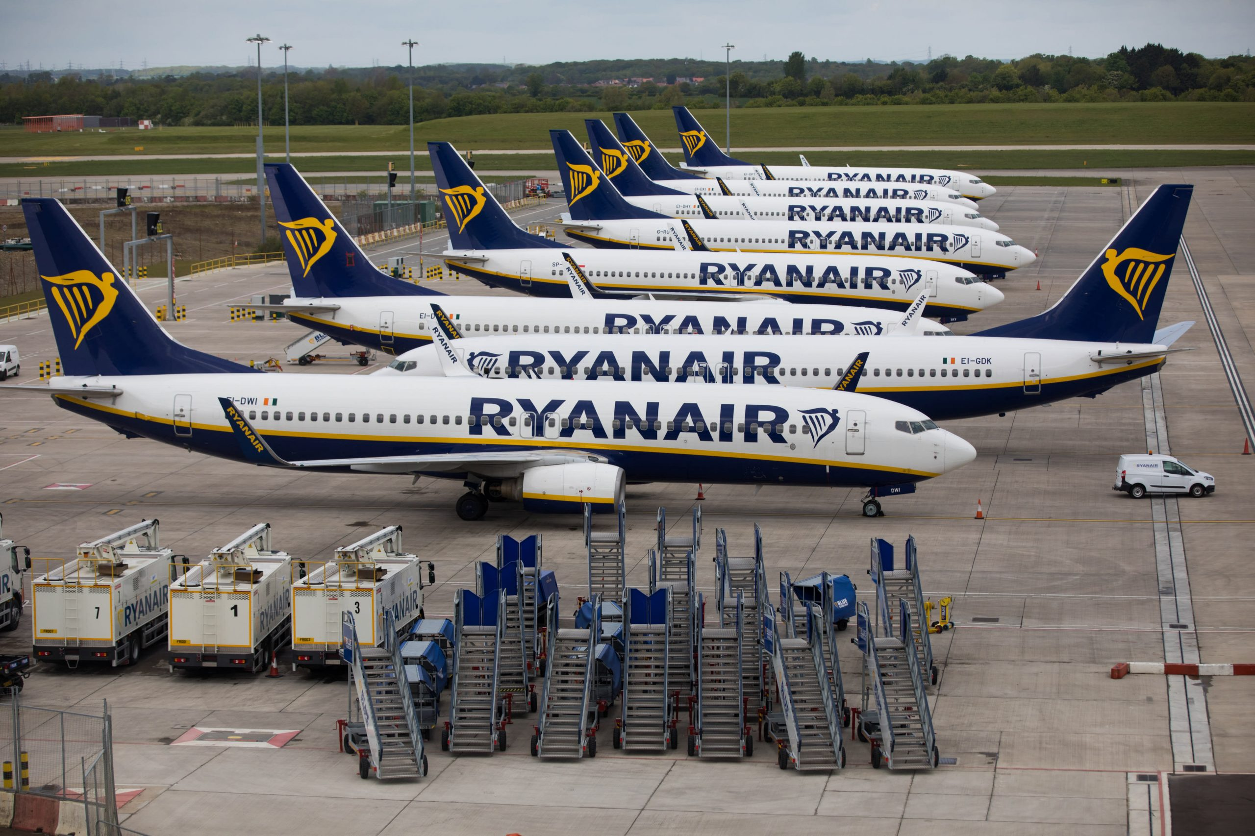 Ryanair Revenue q2 2020