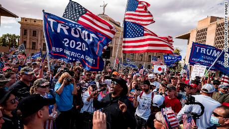 & # 39;  Trump could still win & Biden's supporters oppose the president after the victory
