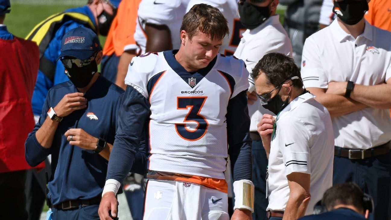 Sorry for 'slipping' the Denver Broncos QB True Lock in following the COVID-19 protocol