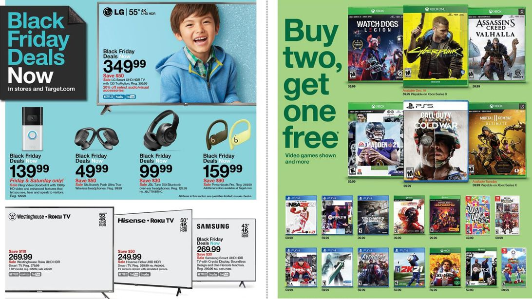 Target Black Friday 2020 Promo Scan Apple Watch Off 50 And Many More