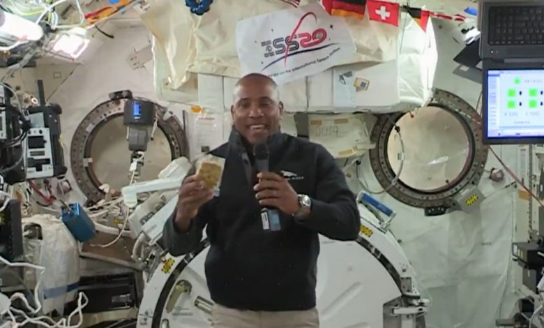 NASA astronaut Victor Glover shared his first video from space
