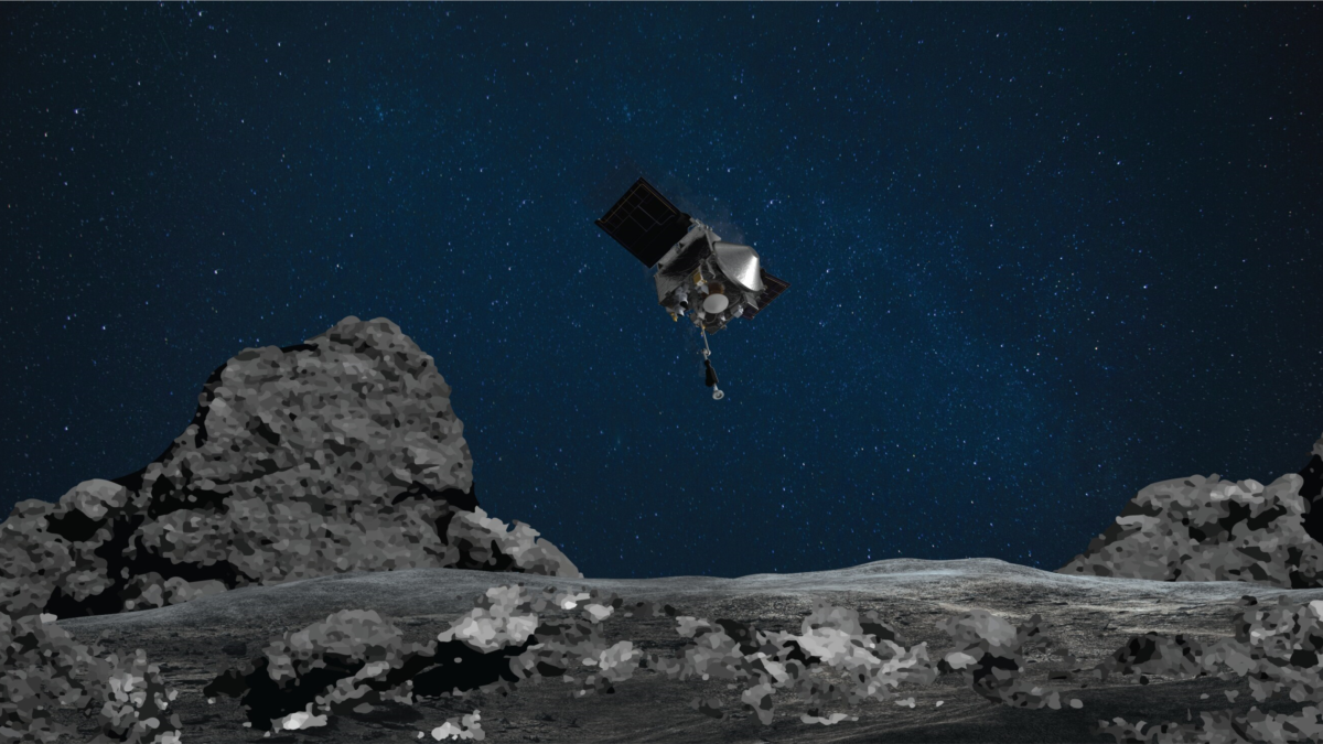 The NASA spacecraft catches far more asteroid models than expected