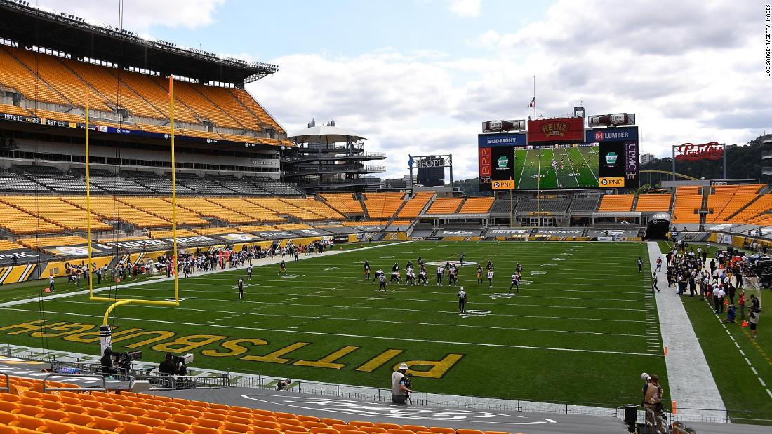 The Ravens-Steelers Thanksgiving match was postponed due to the Covit-19