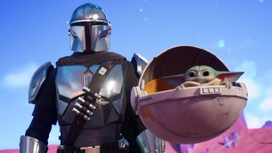 Photo of Fortnight Chapter 2: Season 5 Baby Yoda and Mandalorian are added