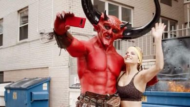 Photo of Satan starred in Taylor Swift's new love story Ryan Reynolds match ad