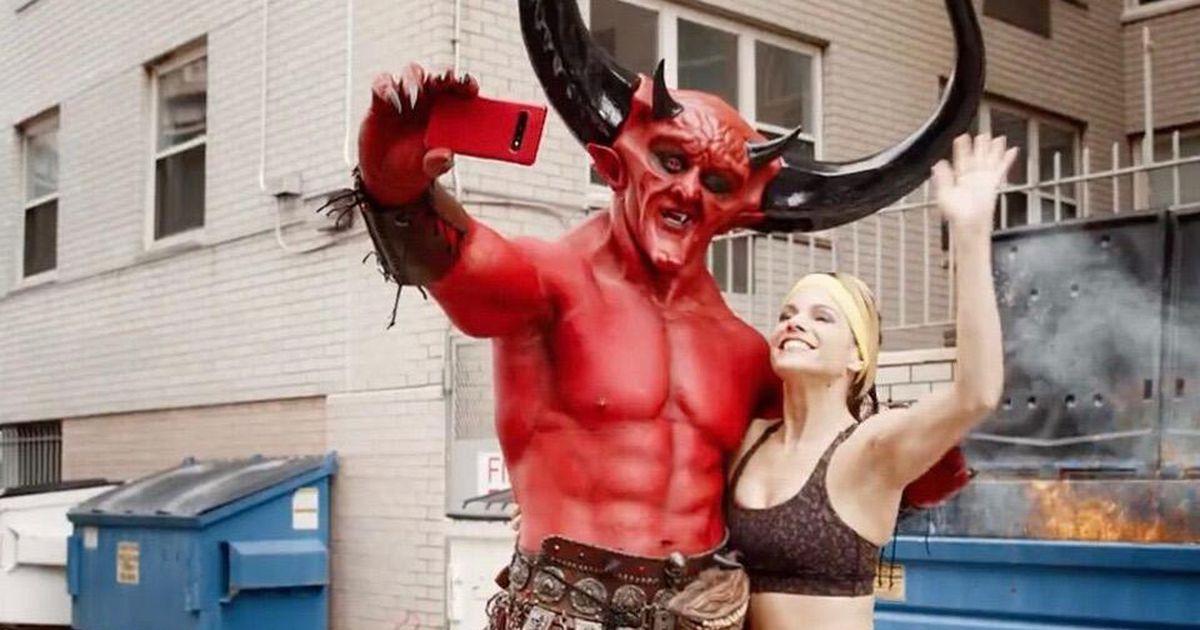 Satan starred in Taylor Swift's new love story Ryan Reynolds match ad