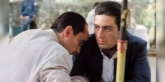 """Al Pacino """"The Godfather: Part III,"""" It was first published in 1990."""