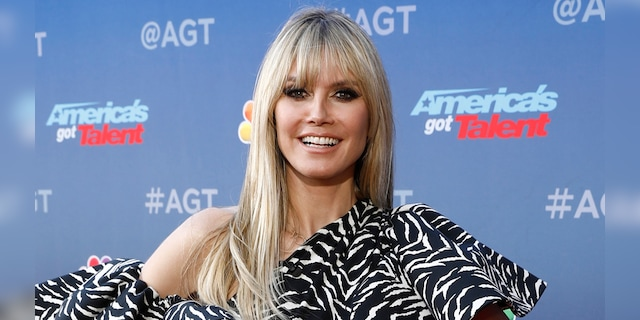 Heidi Klum said her daughter Lenny has to wait until she is 16 to enter the modeling world.  (Getty Images)