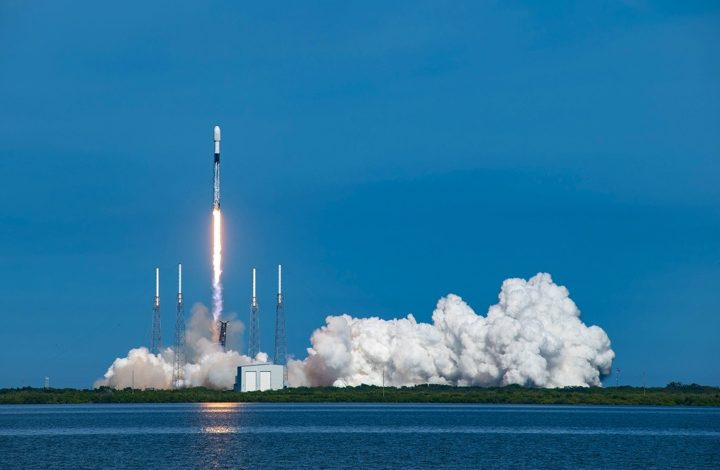 SpaceX Rocket Launch Today Of SiriusXM Satellite