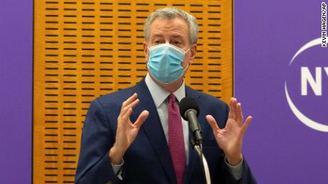 De Blasio says New York could face another strike due to rising Govt-19 infections