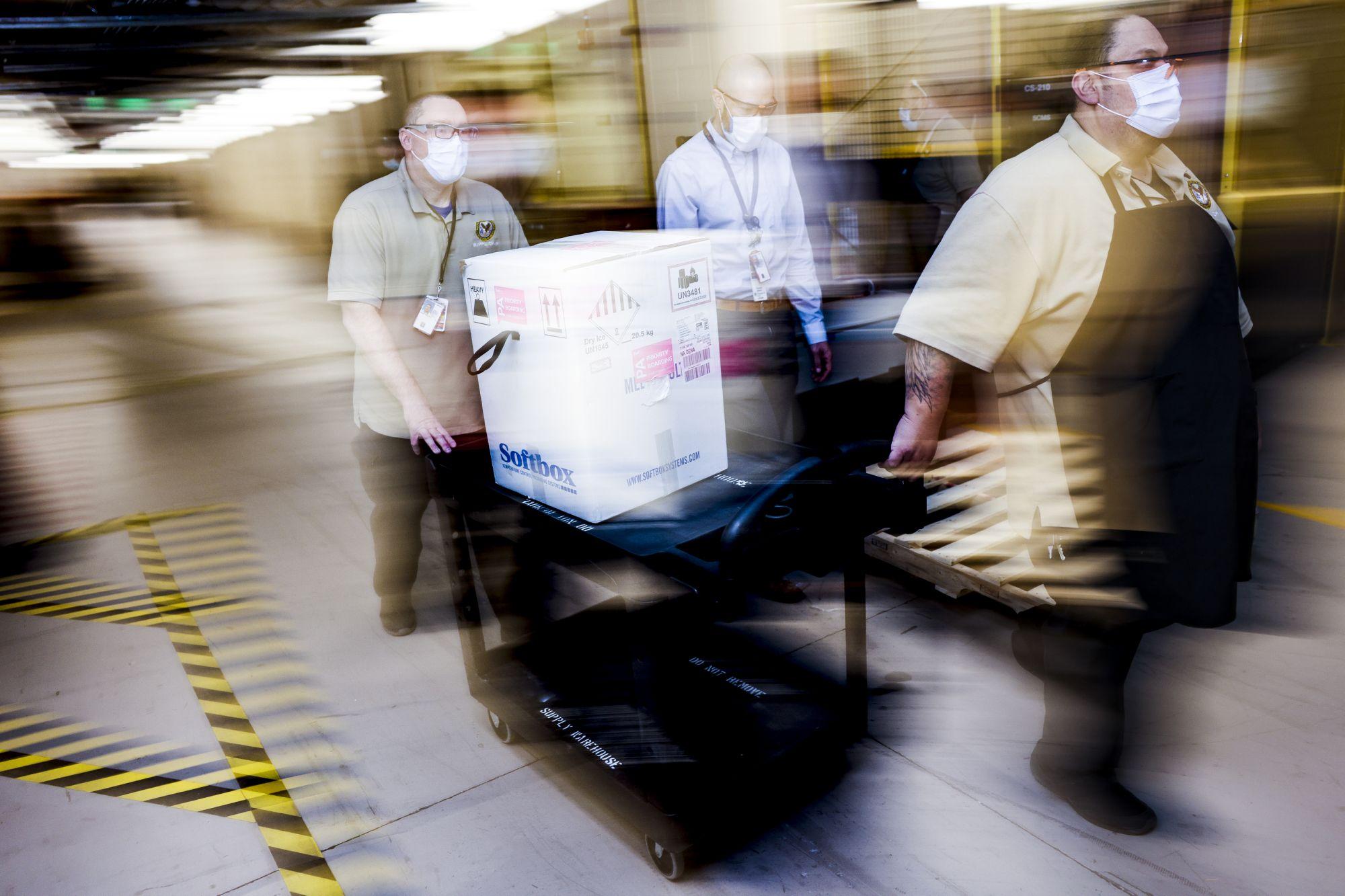 MRNA vaccines trigger innovations in logistics: expert