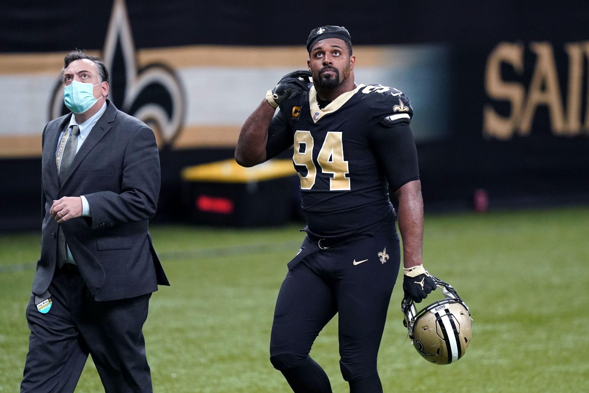 Cam Jordan believes the Saints should win by punch