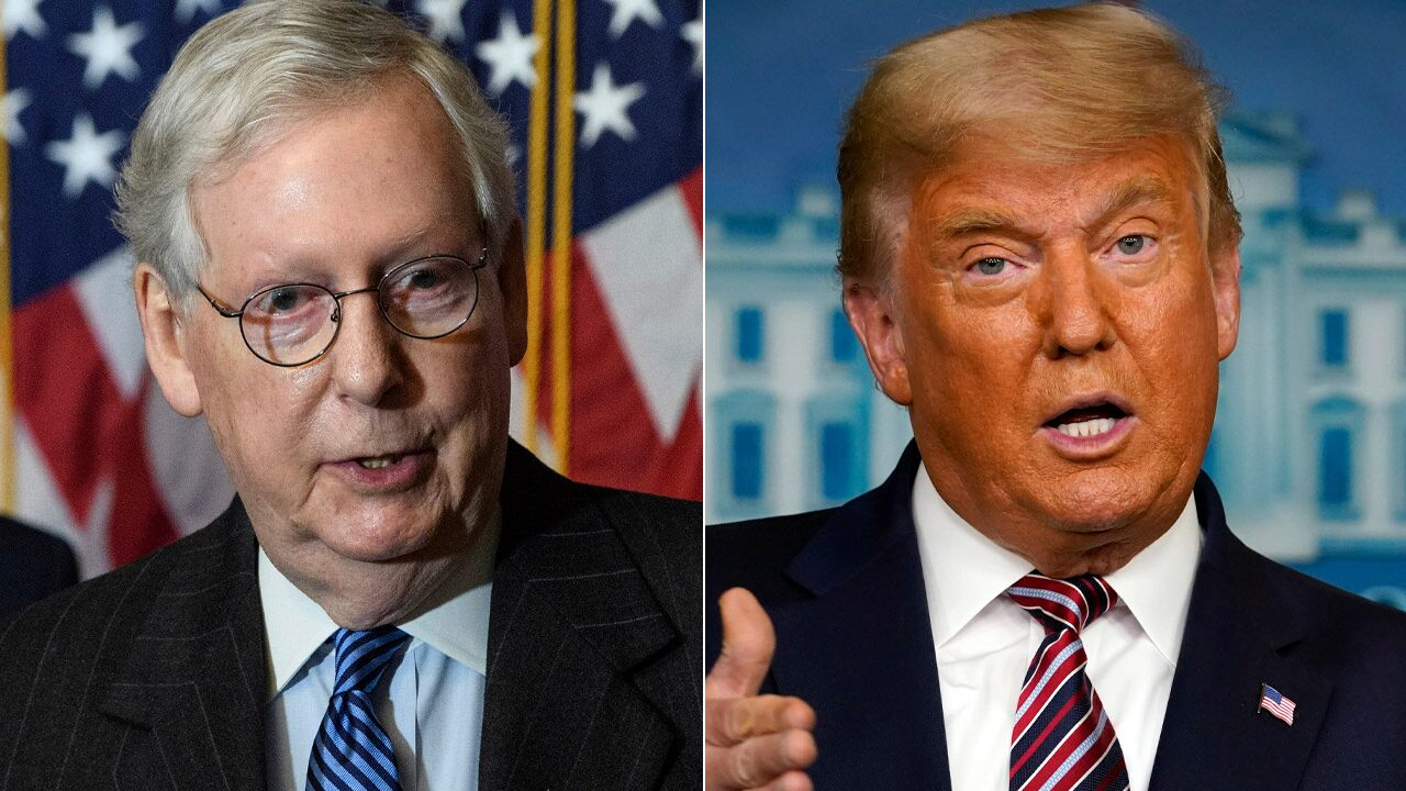 Trump accused others in the GOP of failing to fight for him