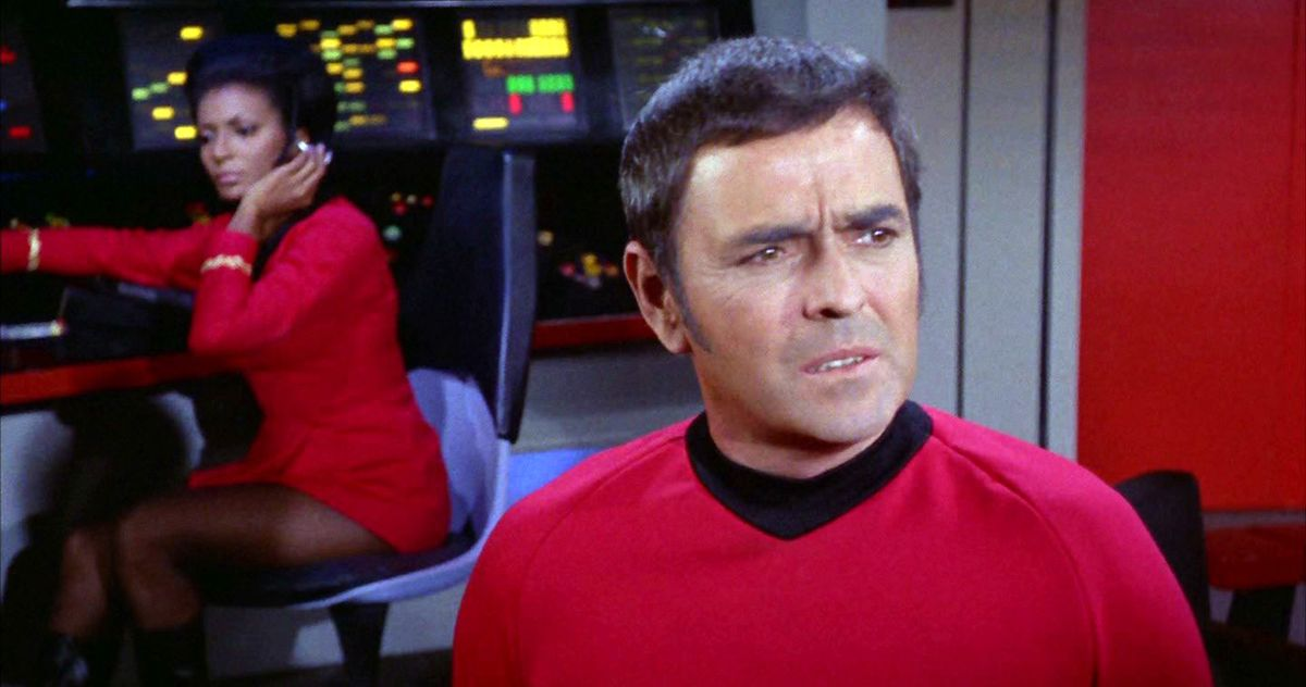 Gray from Star Trek's Scotty hijacked space station