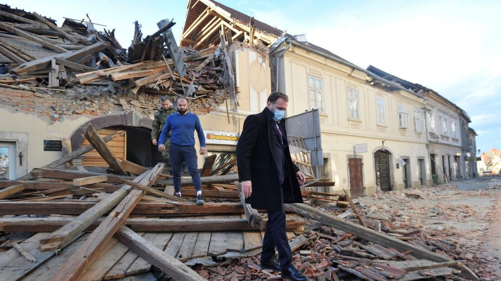 At least six dead and dozens injured after earthquake in Croatia |  NOW