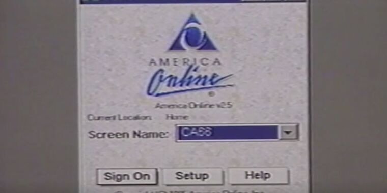 Browse the memory lane on the internet with this 1996 instructional video