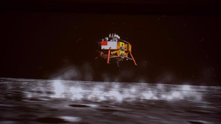 China's Chang-5 successfully lands on the moon