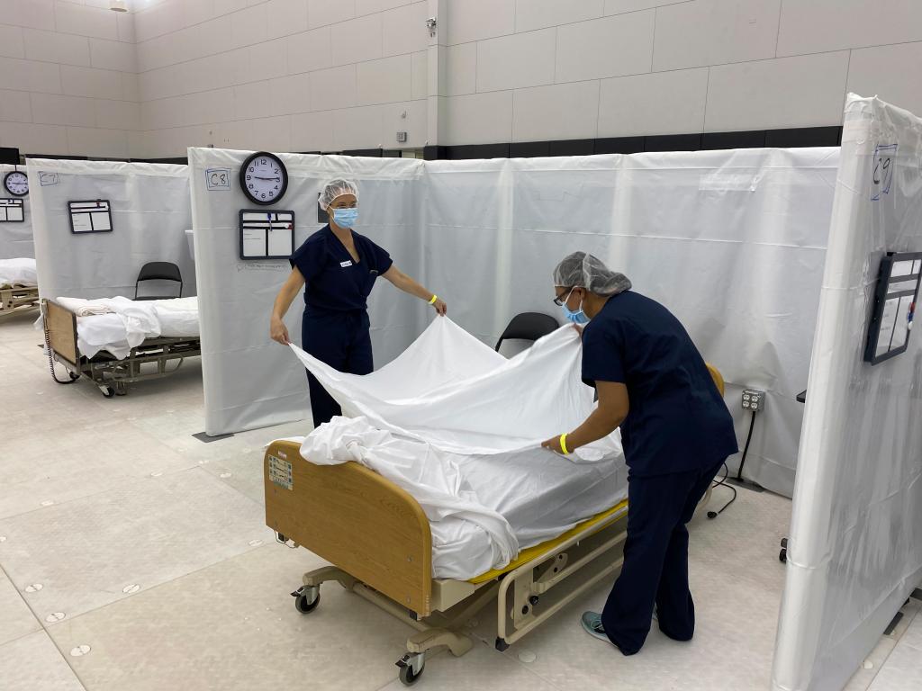 Covid-Riden LA has just 56 ICU beds, no Orange County - deadline