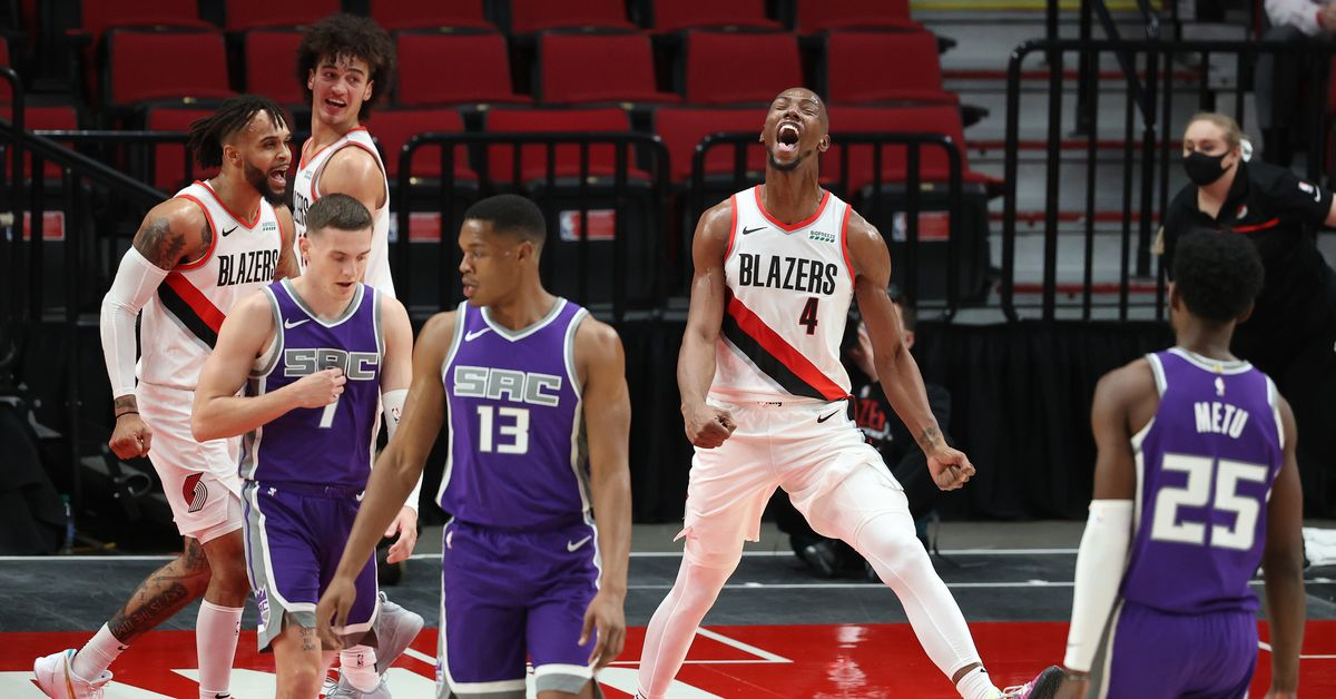 Giles is the elder against the former team, the Trail Blazers Kings Kings